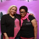 Jessica Blair, owner of Blair Chic Boutique, with Shemeka